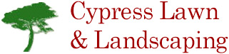 cypress lawn and landscaping logo
