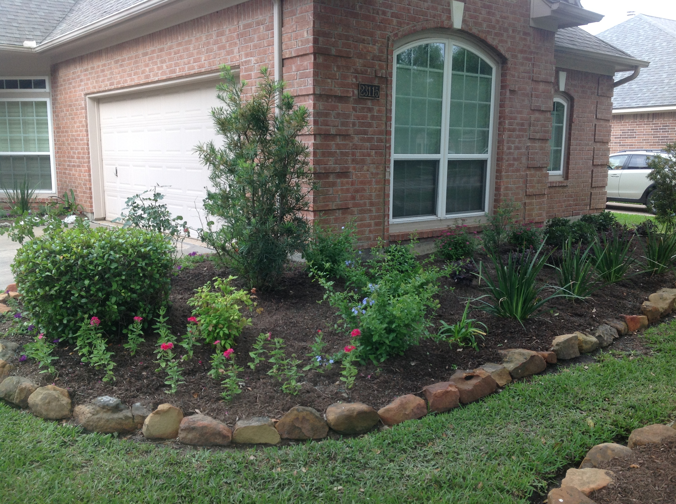 Landscaping services, Cypress
